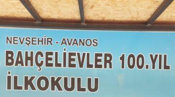 Avanos 'da okullar dezenfekte edildi