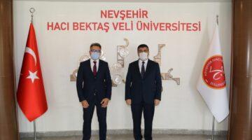 Selçuk Üniversitesi Rektöründen NEVÜ'ye ziyaret