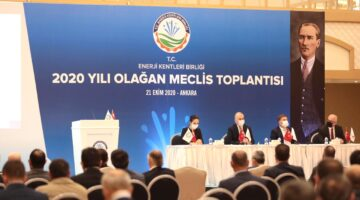 Başkan İbaş Türkiye Enerji Kentleri Birliği Toplantısına katıldı
