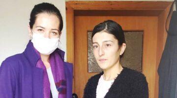 Altınsoy'dan mağdur kadına destek ziyareti