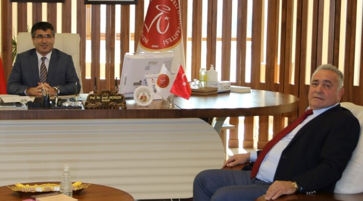 NEVÜ Rektörü Aktekin'e ziyaret
