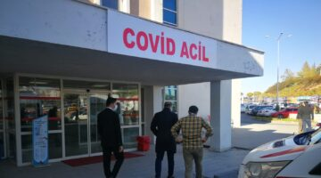 Sağlık Müdürü Ünlübay 'Covid Acil' ve 'Covid Polikliniğini' inceledi