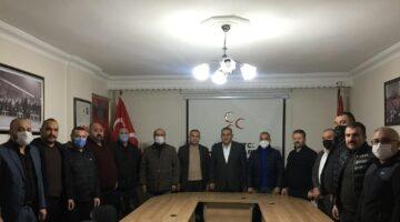 Ülkü Ocakları'ndan MHP İl yönetimine 'Hayırlı Olsun' ziyareti
