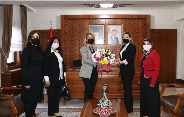 Türk Eğitim Sen Nevşehir Şube Kadın Komisyonundan ziyaret