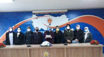 AK Parti Kadın Kollarından 25 Kasım Kadına Yönelik Şiddetle Mücadele Günü açıklaması