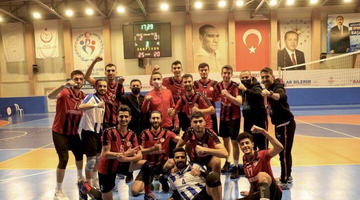 Nevşehir Belediyespor Erkek Voleybol takımı galibiyet serisine devam ediyor