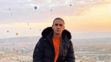 Galatasaraylı futbolcu Taylan Antalyalı, Kapadokya'da