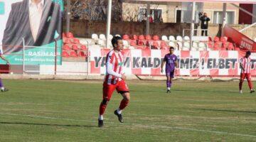 Hamza Küçükköylü, Nevşehir Belediyespor formasıyla ilk golünü attı