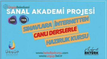 Ürgüp Belediyesi'nden 'Sanal Akademi Projesi'