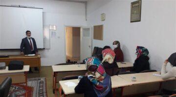 Ürgüp'te kuran kursları hizmet içi eğitim seminerleri sürüyor
