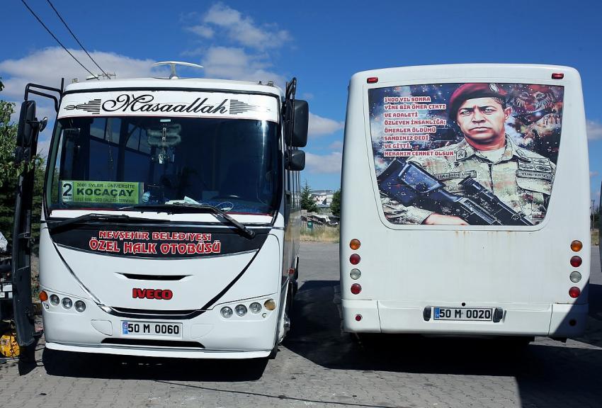 Özel Halk Otobüslerinin sefer saatleri hafta sonu için yeniden düzenlendi