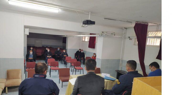 Avanos'ta bilgilendirme toplantısı yapıldı