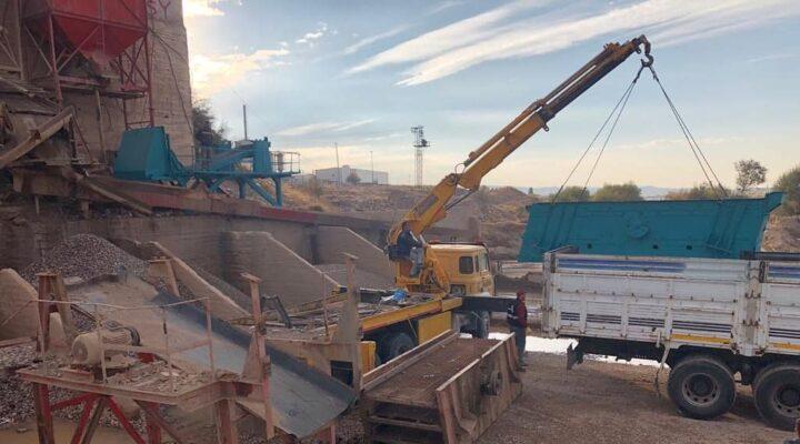 Gülşehir'de elek sistemi yenileniyor