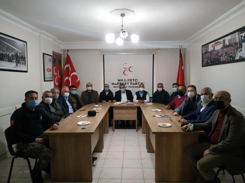 MHP'de ilçe başkanları toplantısı
