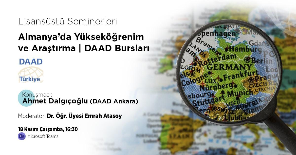 Almanya'da Yükseköğrenim ve Araştırma | DAAD Bursları