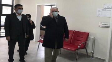 Sağlık İl Müdürü Ünlübay Kozaklı'daydı