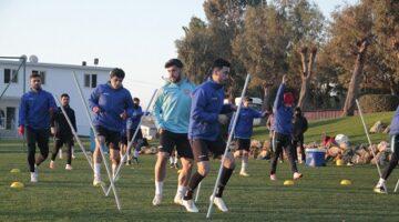 Antalya kanpında yeni transferler takıma uyum sağladı