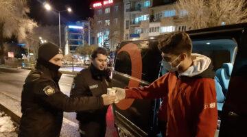 Nevşehir ayazında Kızılay Çorbası içleri Isıtıyor