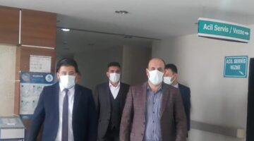 Ünlübay, Kozaklı FTR Hastanesini ziyaret etti