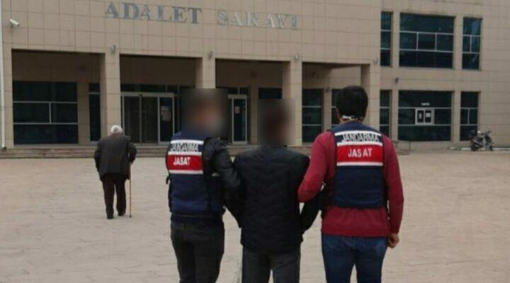 Kozaklı'da buğday hırsızı yakalandı