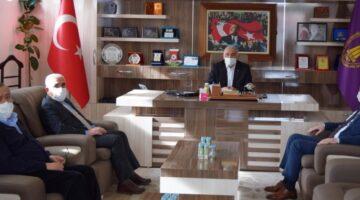 SGK İl Müdüründen Birlik Başkanlığına ziyaret