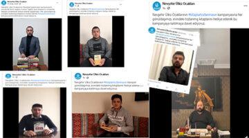 Ülkücülerden raftaki kitapları indiren kampanya