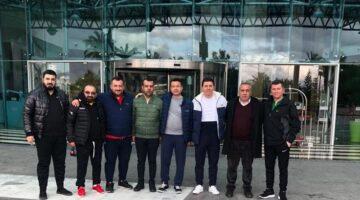 Nevşehir Belediyespor Yönetim Kurulu Antalya kampını ziyaret etti