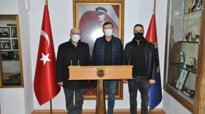 NEVÜ Rektör Yardımcısı Çolakoğlu'ndan JAKEM Komutanlığı'na ziyaret
