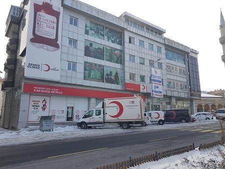Kızılay Kan Bağış Merkezi haftasonlarıda açık