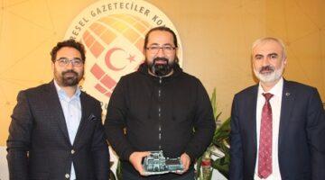 KGK İl Başkanı Karaca'ya hayırlı olsun ziyaretleri sürüyor