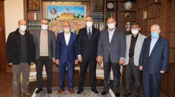 Başkan Özdemir'den Savran'a teşekkür