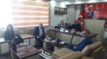 Koçak'tan Kaymaklı ve Sulusaray belediyelerine ziyaret