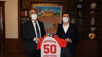 Nevşehir Belediyespor Yönetiminden ziyaret