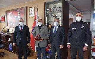 Polis Memuru Hasan Doğan emekli oldu