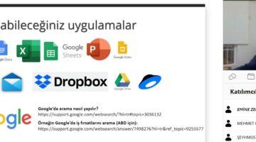 """""""Kariyer Yolculuğunda Teknoloji Kullanımı"""" semineri"""
