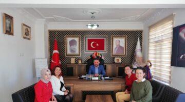 ÜREVKAD'tan Ortahisar Belediye Başkanı Ateş'e ziyaret