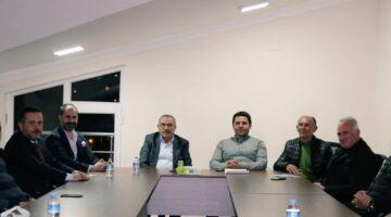 Kahraman, Ürgüp Ticaret Odası'nın meclis toplantısına katıldı