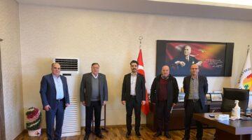 Genç Nevşehirliler Derneği başkan parmaksız'a ziyaret