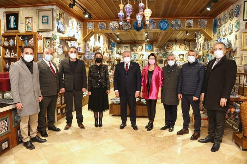 TBMM Başkanı Şentop, Kapadokya'daydı