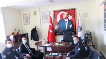 Jandarma ve Emniyet Müdürlüğünü ziyaret