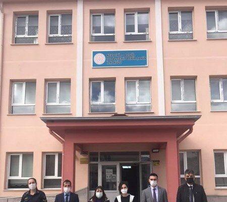 Karapınar ve Topaç'taki okullar denetlendi