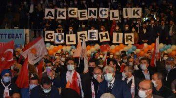 Kongre de Gülşehir gençlik farkı