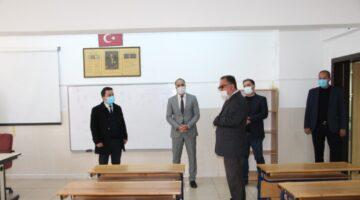 Gülşehir okullarında yüz yüze eğitim öncesi denetim