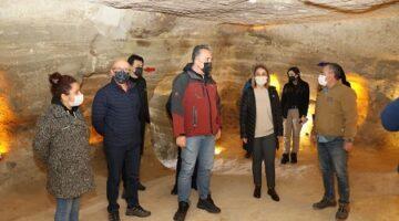 Vali Becel, Kayaşehir'de incelemelerde bulundu