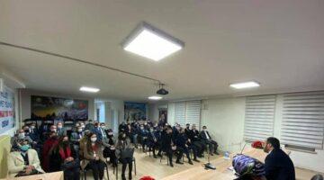 AK Parti İl Başkanlığında görev dağılımı yapıldı