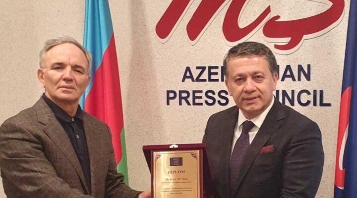Kardeş Azerbaycan'dan ahde vefa