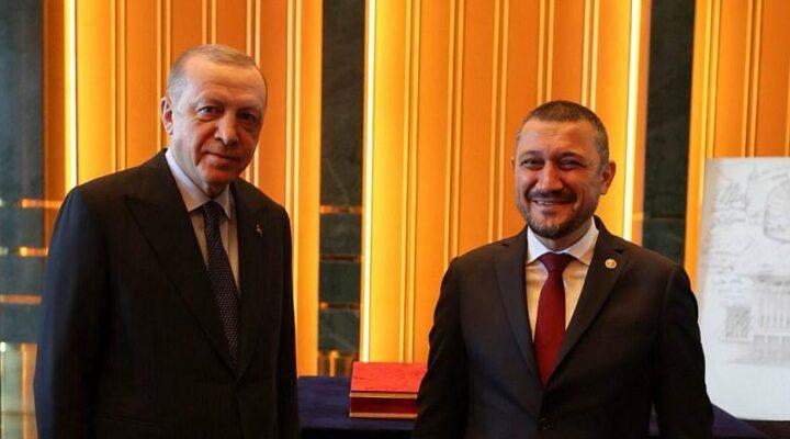 Cumhurbaşkanı Erdoğan, Açıkgöz'ü kabul etti