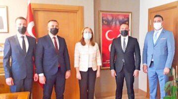 MHP Genel Başkan Yardımcısı Kılıç'ı ziyaret