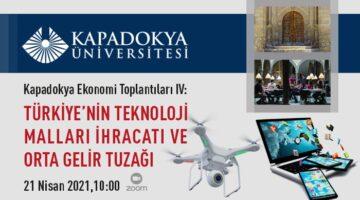 Türkiye'nin Teknoloji Malları İhracatı ve Orta Gelir Tuzağı konuşuldu