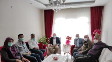 Başkan Çiftçi'den Şehit ailesine destek ziyareti